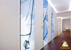Interior Decoration Advertising Solution--Germany Beauty and Fitness Club Case