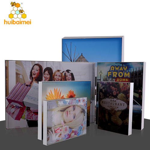 17mm depth ultra-thin frameless fabric light box