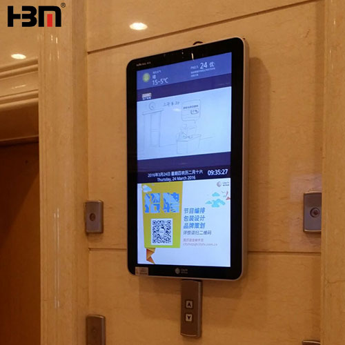 42inch wall-mounted network version with android mainboard advertising player