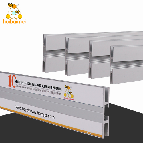 Factory double side 40mm frameless fabric light box aluminum profile for brands display  sc 1 th 225 & LED light box fabric light box aluminum profile LED player ... Aboutintivar.Com