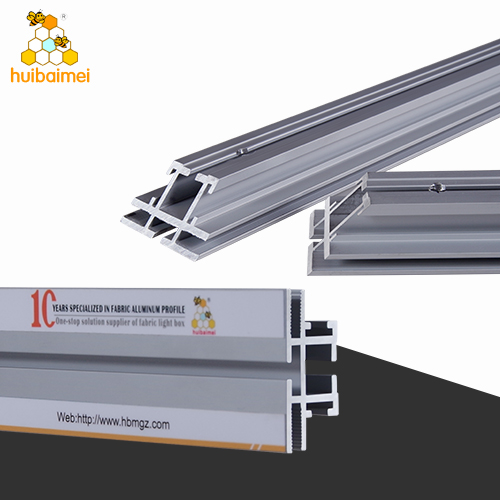Factory double side 49.5mm frameless fabric light box aluminum profile for brands display  sc 1 th 225 & LED light box fabric light box aluminum profile LED player ... Aboutintivar.Com