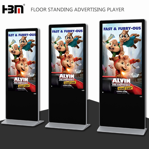 New design shell alone version advertising player led screen machine for wholesale