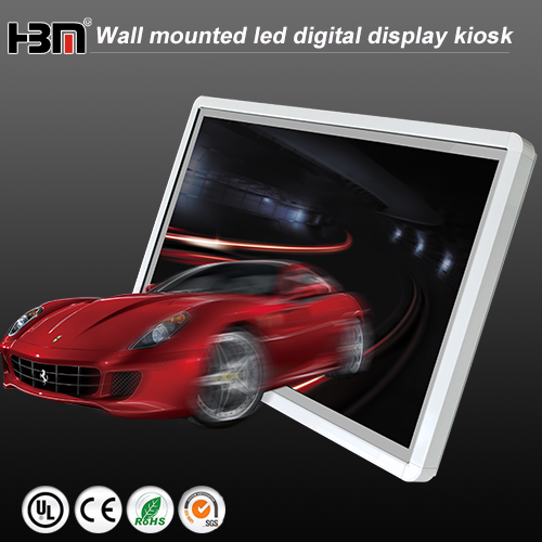 47inch new product wall mounted led digital display kiosk network touch screen advertising player