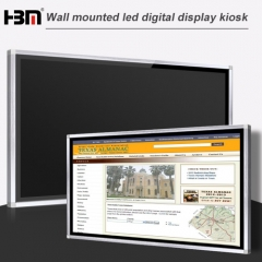 50inch wall-mounted network touch screen advertising player
