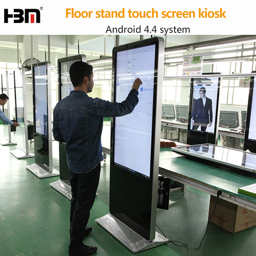 42 inch touch screen kiosk android digital signage with LG screen