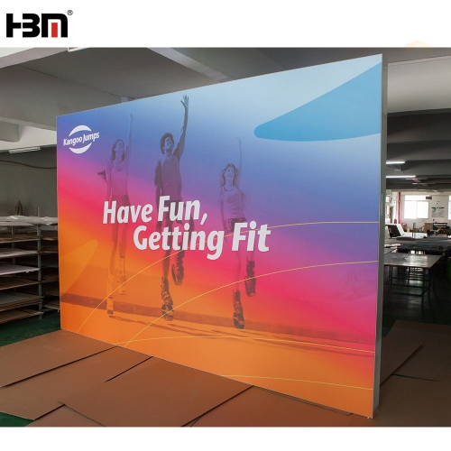 160 mm floor stand double face aluminum profile SEG light box for exhibition display